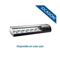 Vitrina de Tapas Refrigerada 6 Bandejas SR6A Distrensa(Azul)