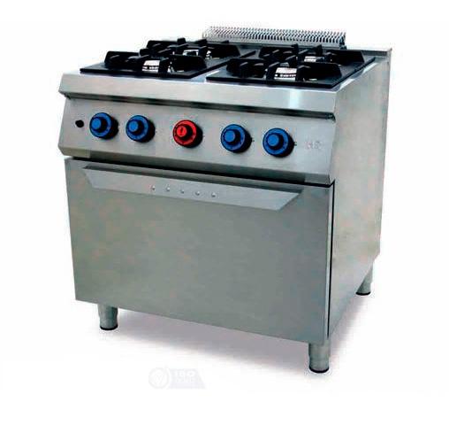 Cocina a gas 4 fuegos 750 horno c4f750h fainca hr compra for Cocina 4 fuegos con horno a gas