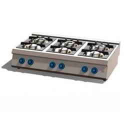Cocina a Gas 6 Fuegos 750 Sobremesa C6F750S FAINCA HR