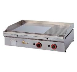 Fry-Top a Gas FULLCROM Semi-Ranurado FCR-90 Mainho