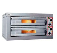 Horno de Pizza Bicamara HPE4+4 MCM
