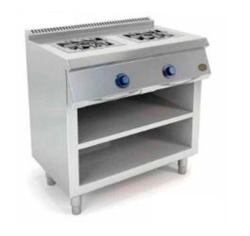 Cocina a Gas 2 Fuegos 550 Estamte C2F550E Fainca HR