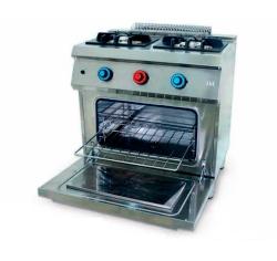 Cocina a Gas 2 Fuegos 550 Horno C2F550H Fainca HR