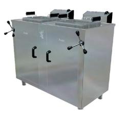 Freidora Agua y Aceite FH25+25 Movilfrit