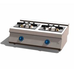 Cocina a Gas 2 Fuegos 550 Sobremesa C2F550S Fainca HR
