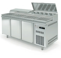 Mesa Fria para Pizza MFEI80-200 Coreco