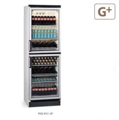 Armario Refrigerado Expositor Vertical FKG 370/2P Eurofred
