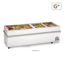 Congelador Horizontal Tapa Cristal 1100 CHV/V Eurofred